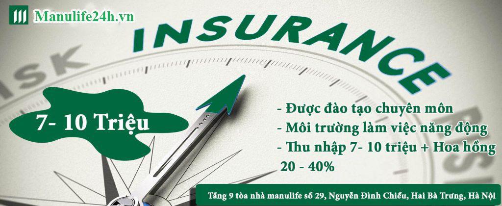 Bảo hiểm manulife tuyển dụng