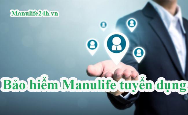 Manulife tuyển dụng
